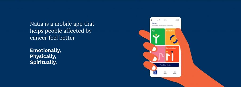 natia app home screen screen capture